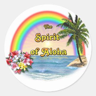 The Spirit of Aloha Classic Round Sticker