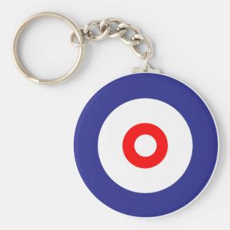 The spirit of Curling Key Ring