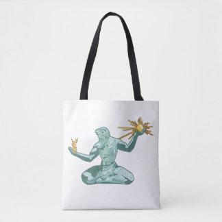 The Spirit of Detroit Tote Bag