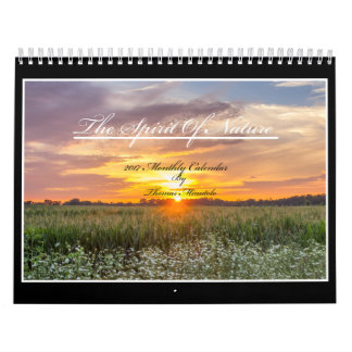 The Spirit Of Nature 2017 Calendar By Tom Minutolo