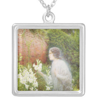 The Spirit of Purity Silver Plated Necklace