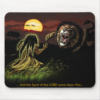 The Spirit of the LORD Upon Him Mouse Mat
