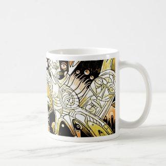 the spirits of arteology basic white mug
