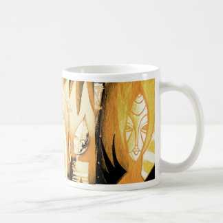 the spirits of arteology basic white mug