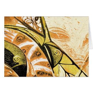 the spirits of arteology greeting card