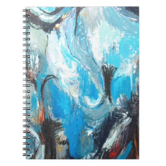 The Spiritual War abstract expressionism Note Book