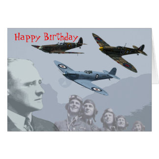 The Spitfire Club - Birthday Card