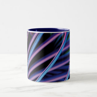 The splash bright lights Two-Tone mug