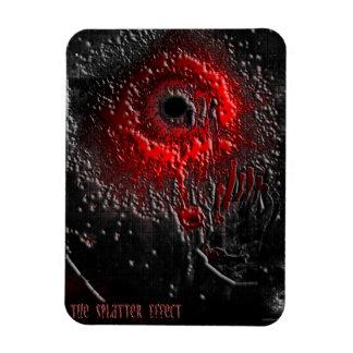The Splatter Effect Magnet