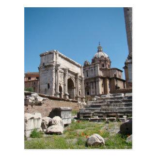 The Splendor of the Roman Forum Postcard