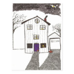 The Spooky House Post Cards