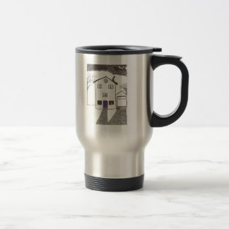 The Spooky House Stainless Steel Travel Mug