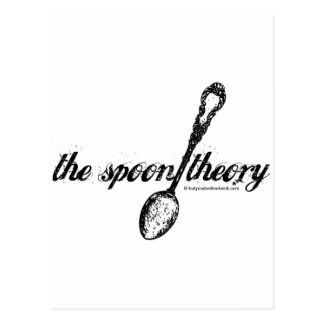 The Spoon Theory Postcard