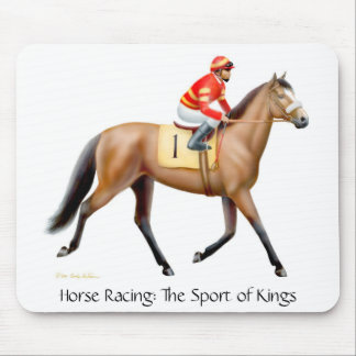 The Sport of Kings Racehorse Mouse Mat