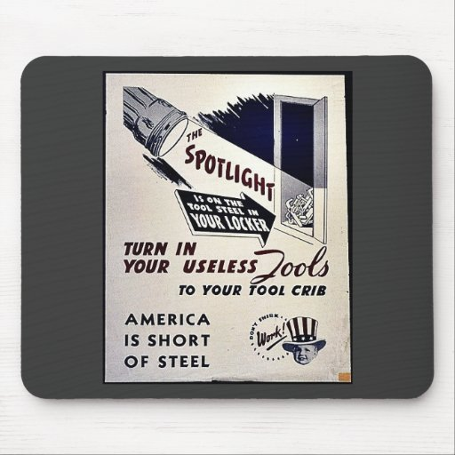 The Spotlight Mouse Pads