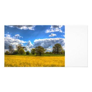 The Springtime Farm Customised Photo Card