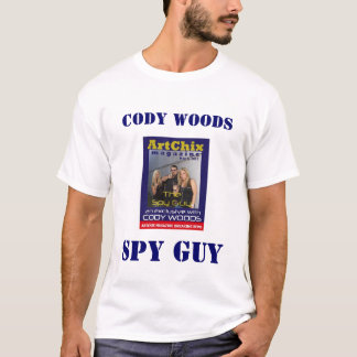 THE SPY GUY CODY WOODS TEE