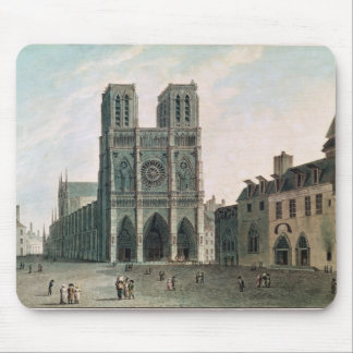 The Square in Front of Notre-Dame Mouse Mat