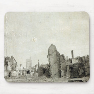 The Square, Ypres, June 1915 Mouse Mat