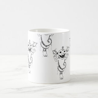 The Squeegle Basic White Mug