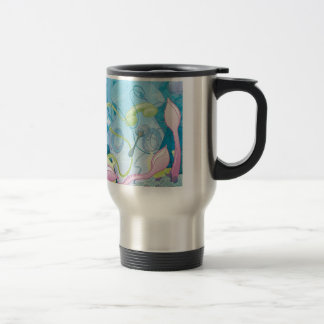 The Squid & the Spaghetti Stainless Steel Travel Mug