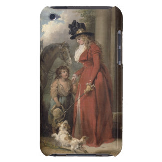 The Squire's Door, c.1790 (oil on canvas) iPod Case-Mate Cases