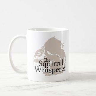 The Squirrel Whisperer Basic White Mug