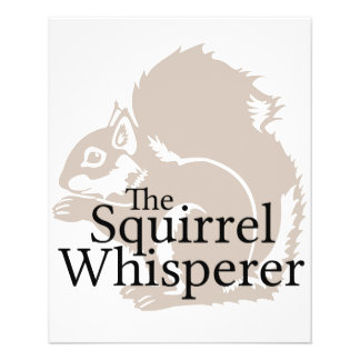 The Squirrel Whisperer Flyer