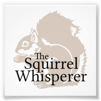 The Squirrel Whisperer Photograph