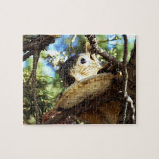 The Squirrel's Sandwich - Jigsaw Puzzle