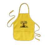 The Squirrel's Treehouse Apron