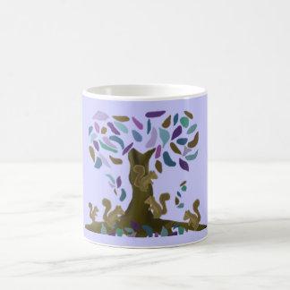 The Squirrel's Treehouse Basic White Mug