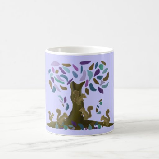 The Squirrel's Treehouse Coffee Mugs