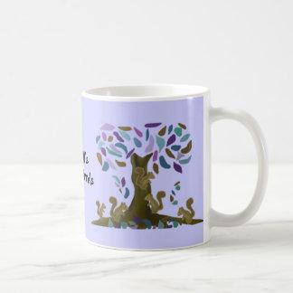 The Squirrel's Treehouse Teacher Mug