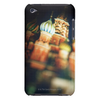 the St. Basil?s cathedral in Moscow at night Barely There iPod Cover