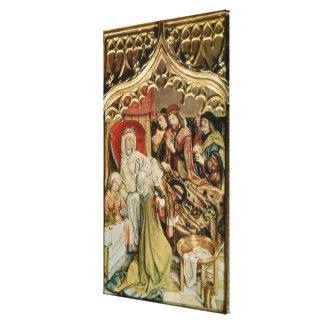 The St. Elizabeth Altarpiece Canvas Print