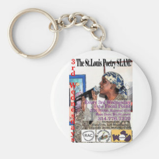 The St Louis Poetry Slam shwag Key Chain