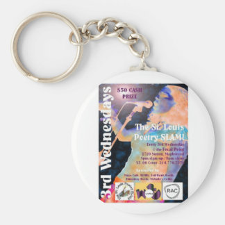 The St Louis Poetry Slam shwag Keychains