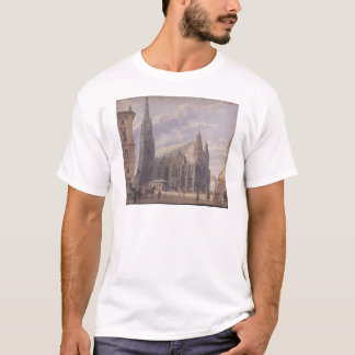 The St. Stephen's Cathedral in Vienna by Rudolf vo T-Shirt