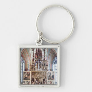 The St. Wolfgang Altarpiece  1471-81 Key Ring