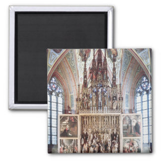 The St. Wolfgang Altarpiece  1471-81 Fridge Magnet