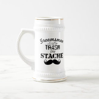The Stache Moustache Pattern Beer Steins