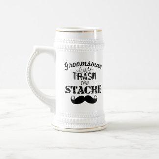 The Stache Moustache Pattern Mugs