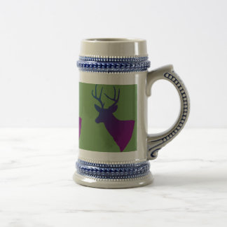 the stag beer stein