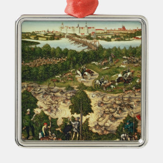 The Stag Hunt Christmas Ornament