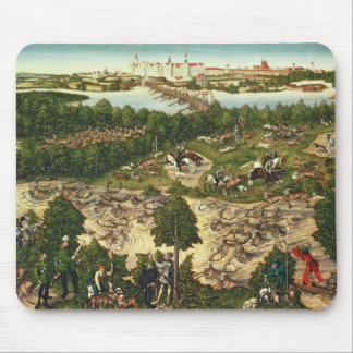 The Stag Hunt Mouse Mat
