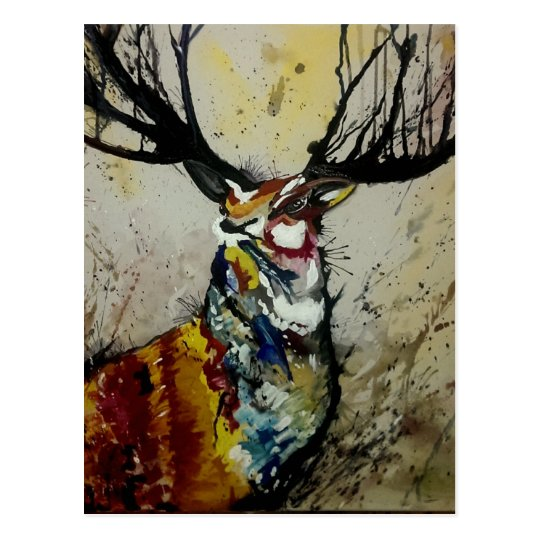 The Stag Postcard