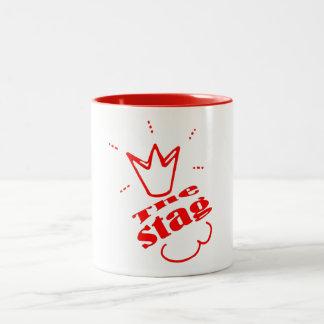 The Stag Two-Tone Coffee Mug