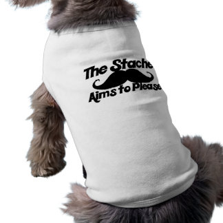 The Stahce Aims to Please Sleeveless Dog Shirt
