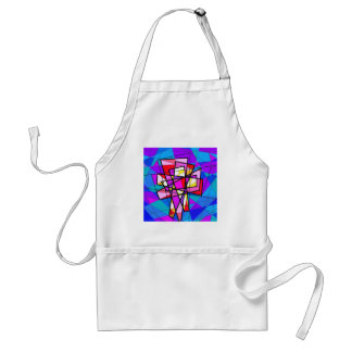 The Stained Glass Crucifix. Aprons
